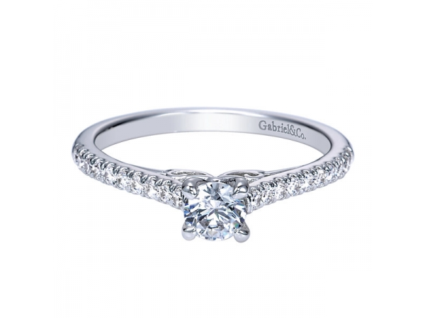 .28 Carat Diamond Engagement Ring by Gabriel & Co