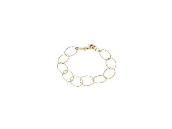 Silver with Gold Overlay Bracelet by Charles Garnier Paris