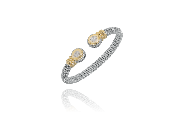 Diamond Silver and Gold Bracelet by Vahan