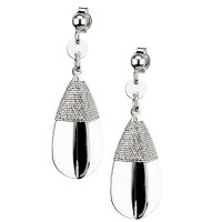 Earrings by Frederic Duclos