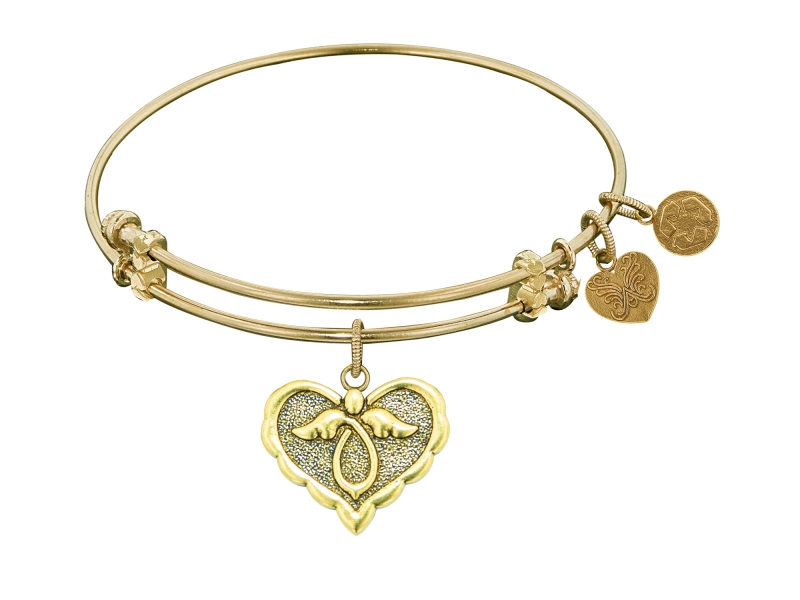 Angelica Angel Heart Bangle by Angelica