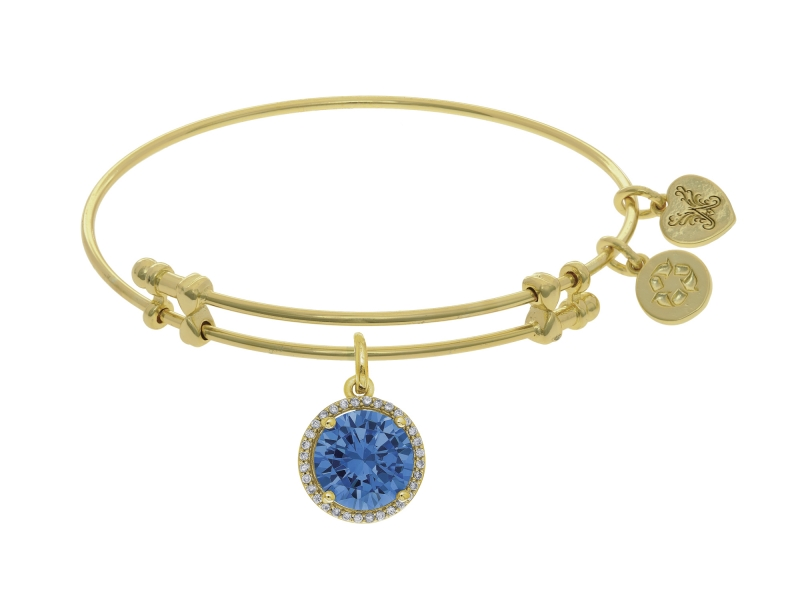 Angelica December Birthstone Bangle by Angelica