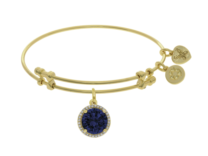 Angelica September Birthstone Bangle by Angelica