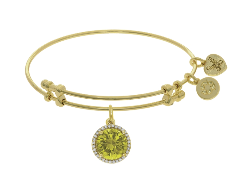 Angelica November Birthstone Bangle by Angelica